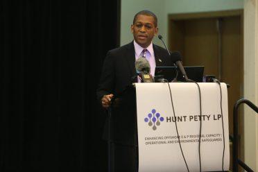 Director of the Department of Energy (DE), Dr. Mark Bynoe