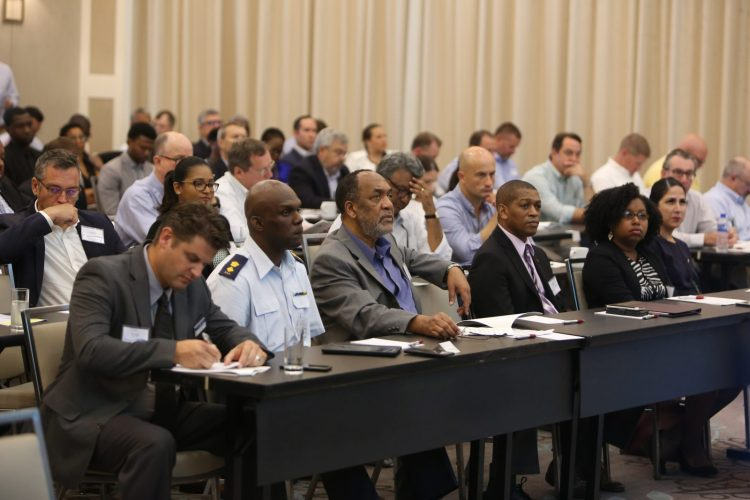 Participants at the Enhancing Offshore E&P Regional Capacity; Operational and Environmental Safeguards Conference