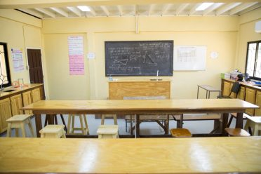 Chemistry Lab at the Golden Grove Secondary School.