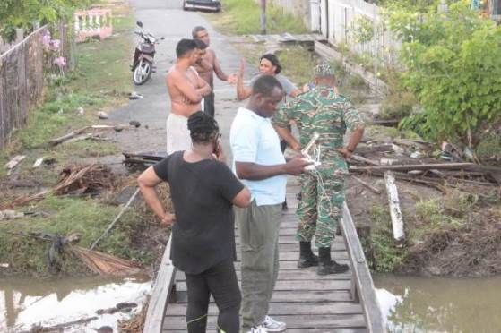 CDC, MOPI and Region 3, officials conducting damage assessments in the affected communities