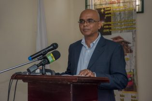 Director of WWF Guyana, David Singh