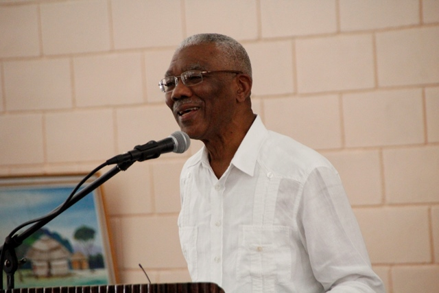 His Excellency Brigadier David A. Granger, President of the Cooperative Republic of Guyana