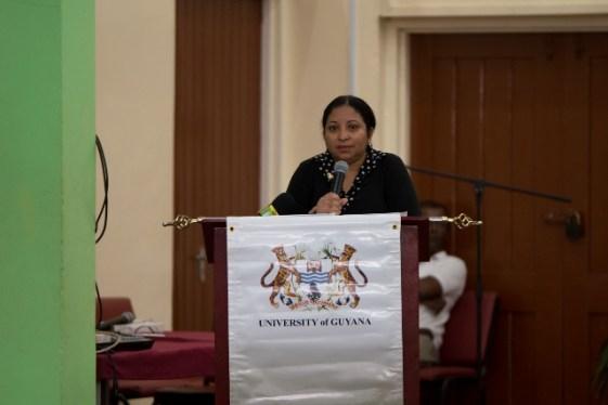 Deputy Vice-Chancellor Philanthropy, Professor Paloma Mohamed.
