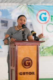 CEO of GUYOIL, Renatha Exeter.