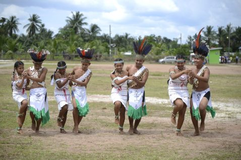 Surama Culture group performing a dance