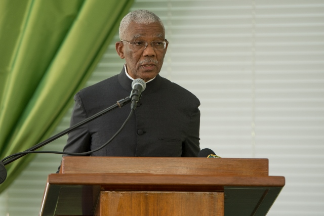 His Excellency, President David Granger addressing the Guyana Public Service Union's (GPSU) 23rd Biennial Delegates' Conference.
