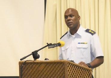 CDC's Director-General, Lt. Col. Kester Craig.