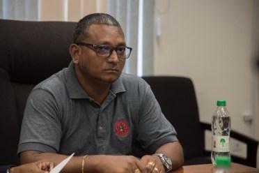 Deputy Executive Director (ag) of the GNBS, Shailendra Rai.