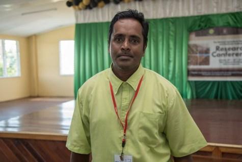 Head of the Guyana Livestock Development Authority's (GLDA) Beef Unit, Fenton Nickram.