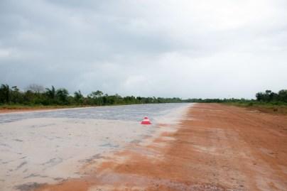 Bimichi airstrip in Morocu subdistrict.