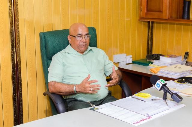 Regional Executive Officer, Denis Jaikaran.