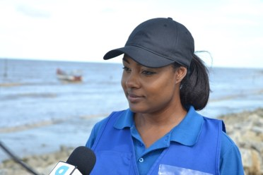 CDC Monitoring and Evaluation Specialist, Olive Gopaul.