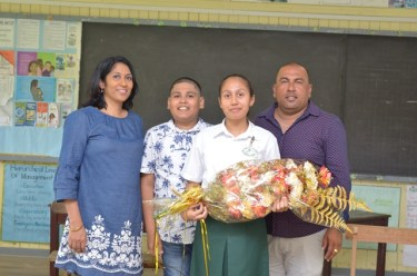 Riana Toney, Caribbean Secondary Education (CSEC) top student who hails from the Cinderella County of EssequiboEssequibo, who copped two awards; Most Outstanding Overall Performer at the CSEC Examinations as well as the award for Most Outstanding Performance in Humanities.