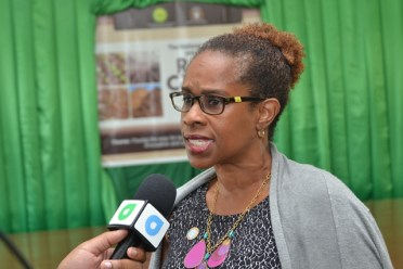 Country Representative for the Food and Agriculture Organization (FAO) to Guyana, Dr. Gillian Smith.
