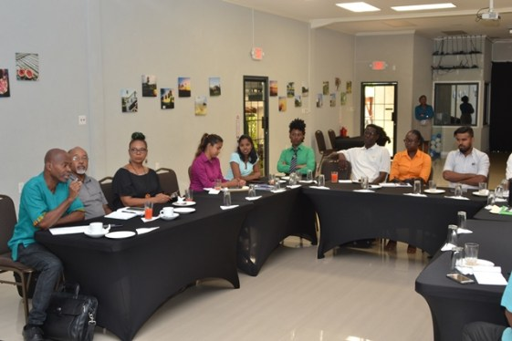 Members of the Guyana Tourism Authority (GTA), Guyana Marketing Corporation (GMC), Ministry of Business and members of the private sector on Tuesday conducted a Committee meeting for the upcoming Agri-tourism week at Duke Lodge.