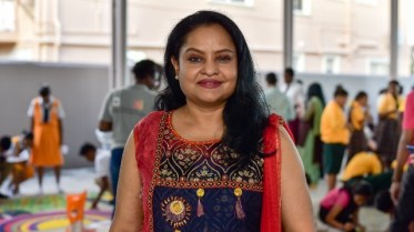 Dr. Vindhya Persaud, President of The Guyana Hindu Dharmic Sabha.
