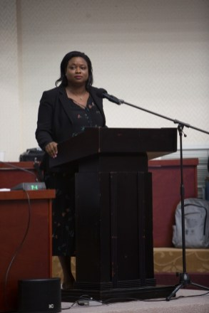 Office of the Prime Minister's Coordinator of the Department of Governance, Tamara Khan.