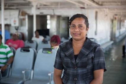 Commuter, Nazia Persaud.