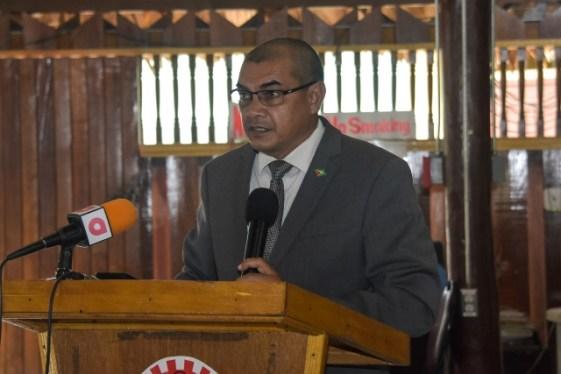 Minister of Business, Hon. Haimraj Rajkumar.