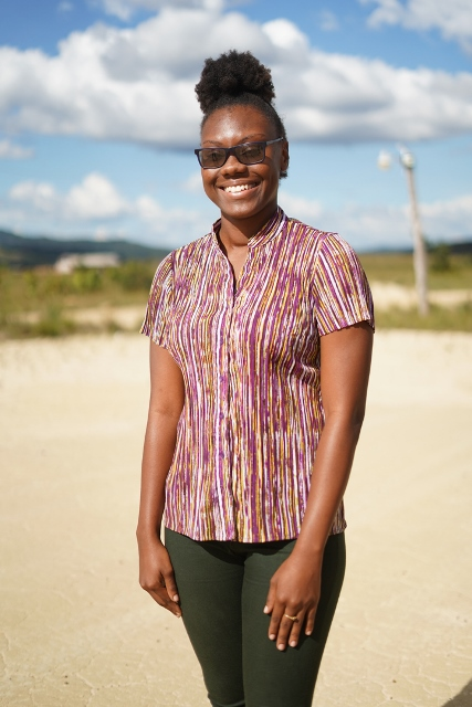 Astrid English, a trained teacher of Kato Secondary School.