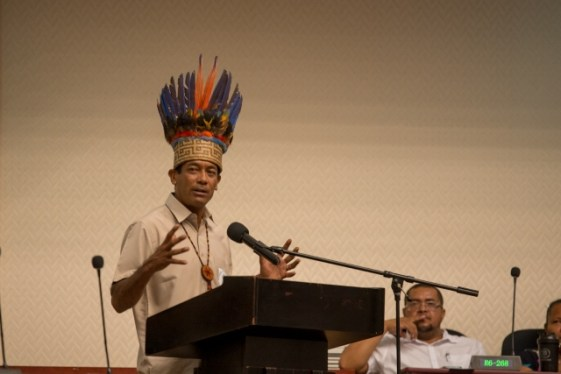 Chairman of the National Toshaos Council, Nicholas Fredricks.