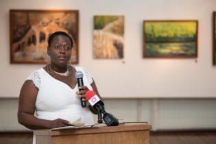 Aelisha Garnett-Williams, one of the featured artists.