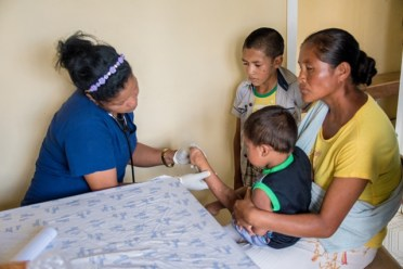 The Pediatrician, a doctor from the Cuban medical brigade, who tended to many children during the outreach.