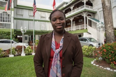 Tiffanie Charles-Persaud, Deputy Principal (ag) of the Government Technical Institute (GTI).