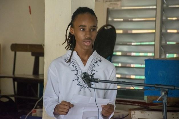 Best Graduating Student, Imanuel De Jonge.