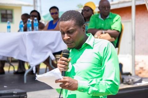 Councillor of Constituency 12, Dexter Forte.