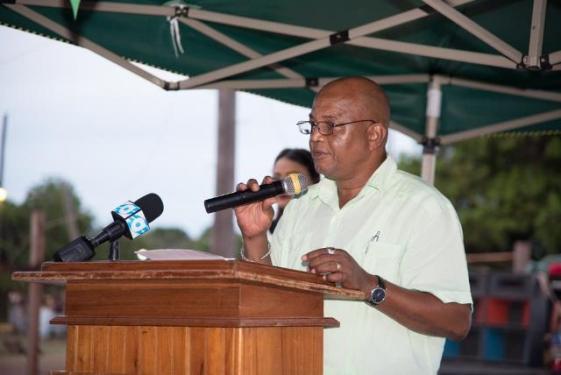 Region 9, Regional Executive Officer (REO), Carl Parker.