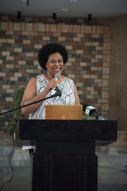 Co-founder of STEMGuyana, Karen Abrams