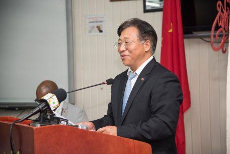 H.E. Cui Jianchun, Ambassador of China to Guyana