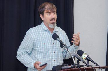 The Guyana Tourism Authority Director, Brian Mullis