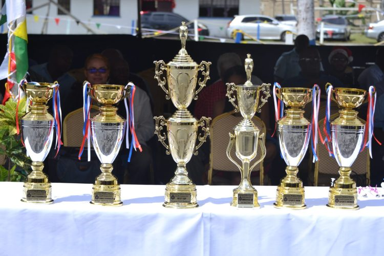 Trophies to be presented
