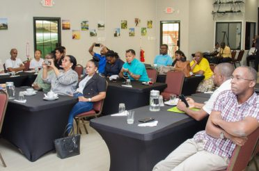 The regional tourism groups that participated in the regional roundup forum