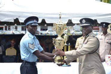 Sergeant Hanover – Overall Best Cop