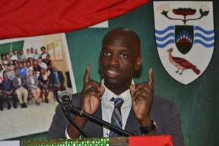 Ronald Austin Jr., Senior Education and Training Officer at the Ministry of the Presidency