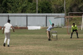 Shots of students playing their favourite sport discipline.
