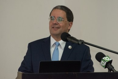 Jairo Valverde Bermudez, UNDP Resident Representative.