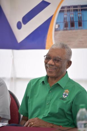 His Excellency David Arthur Granger, President of the Cooperative Republic of Guyana