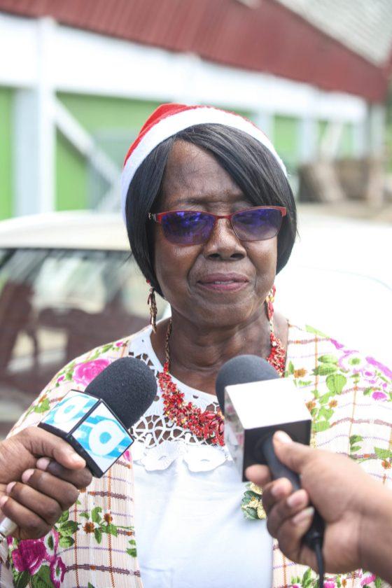 Chairman, Guyana Women's leadership Institute Dr. Mavis Benn