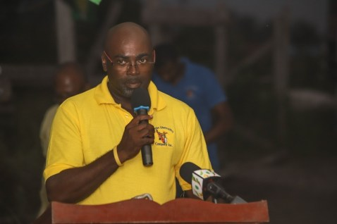 Chairman of Linden's Electricity Company, Tracey Johnson