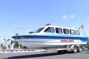 The river ambulance for Region 10