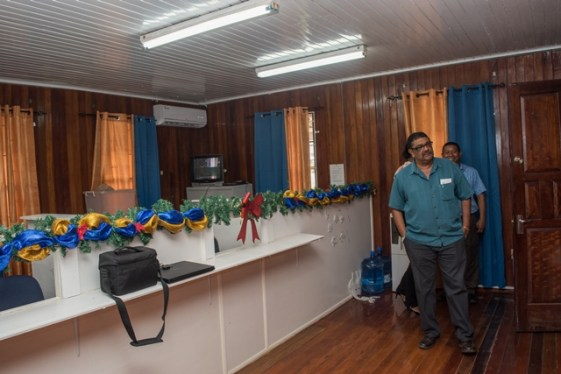 Inside the Newly Commissioned Maritime Safety Centre, Region 6.