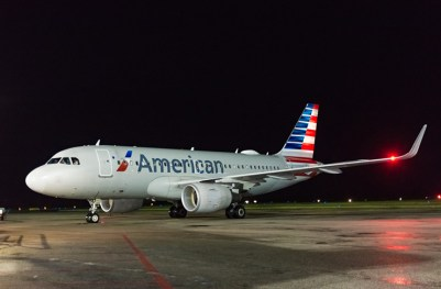 Newly-added, American Airlines