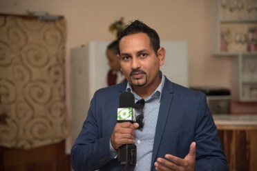Mitra Ramkumar, President of the Tourism and Hospitality Association Guyana.