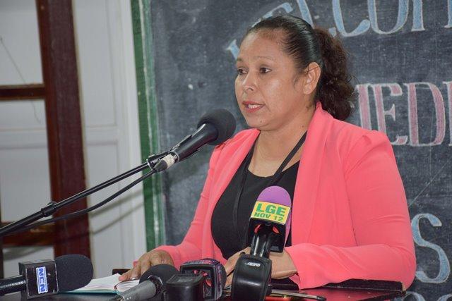 Chief Medex, Ministry of Public Health, Lolita Rebeiro.