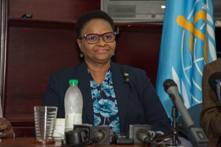 Minister of Public Health Volda Lawrence