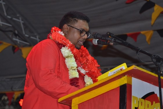 PPP/C Presidential Candidate, Mohamed Irfaan Ali.